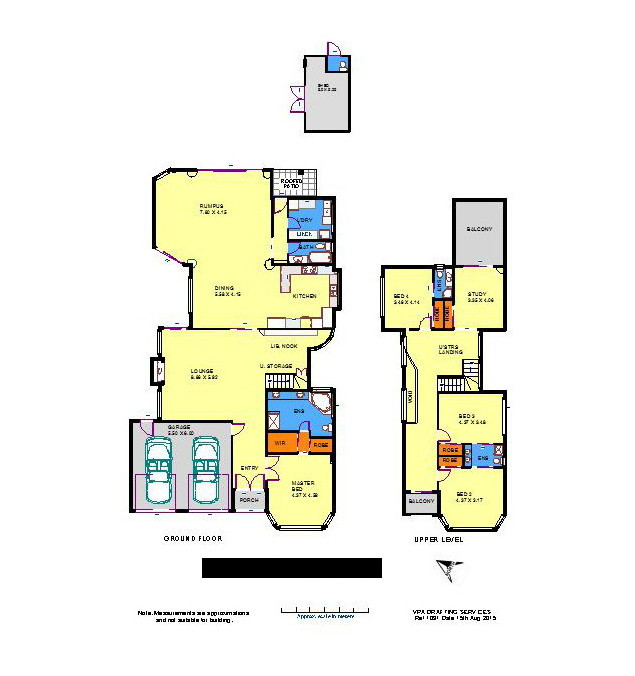 floor plans in color of melbourne