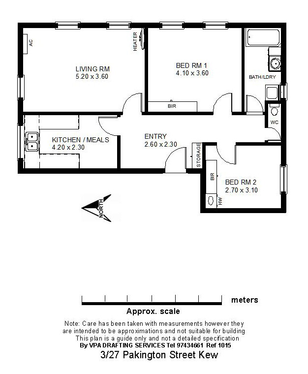 floor plan for apartment